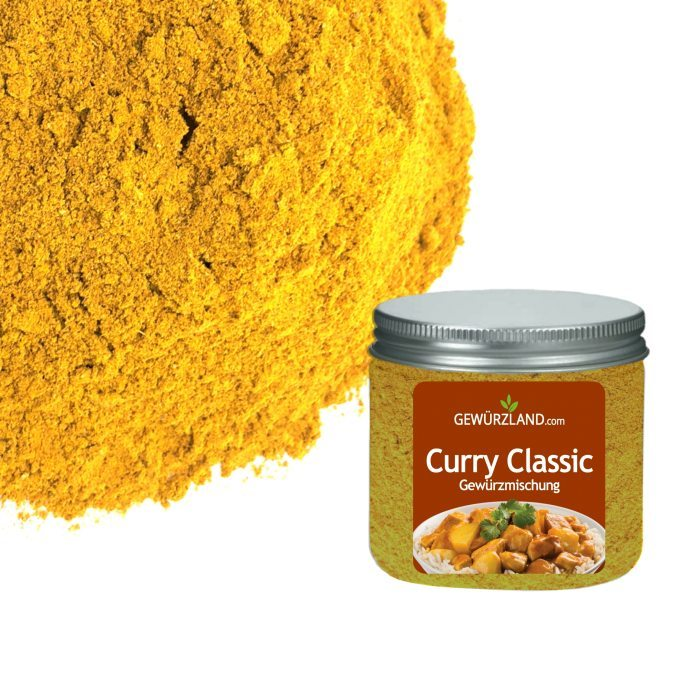 Curry Classic, Currypulver, Curry-Gewürzmischung